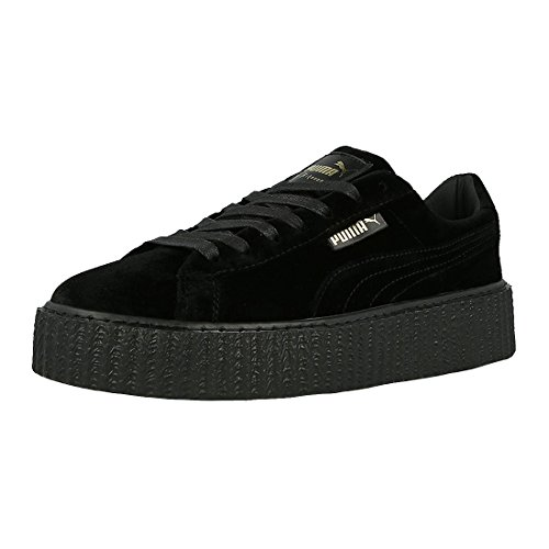 Puma Womens Creeper Velours Sneakers Puma Noir