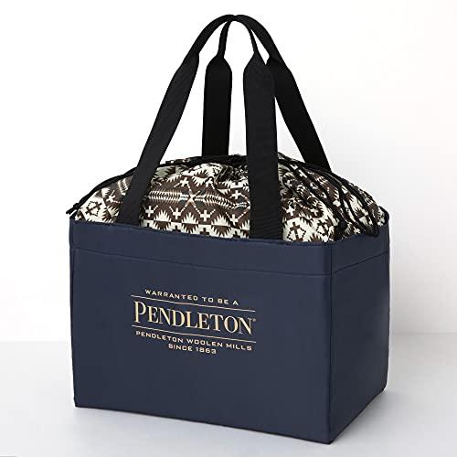 PENDLETON 保冷ができる BIG SHOPPING BAG BOOK NAVY ver. 付録
