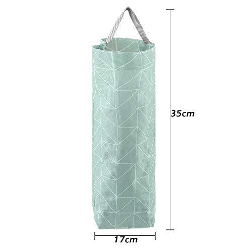 Aelegant Plastic Bag Holder Dispenser Waterproof Wall Mount Grocery Bag Garbage Bag Organizer by Aelegant (Image #2)