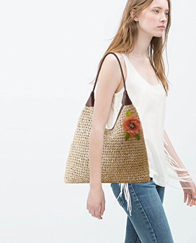 Hobos Handle Womens Shoulder Purse Totes Beige Girl's Summer Top Fashion Bags Handbags FwOgw
