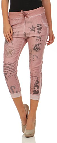 7556 Jogg Panteloni Rosa Donna Stretch Malito Jeans wHqAWdnzI