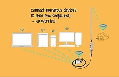 Halo Long Range Marine & RV Wi-Fi Extender System