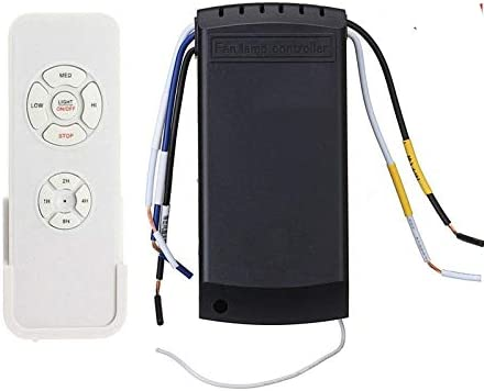 Ceiling Fan Remote Control Kit Wireless Infrared for Ceiling Fan ...