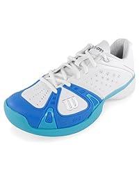 Wilson Rush Pro Women's Tennis Shoes White/Blue