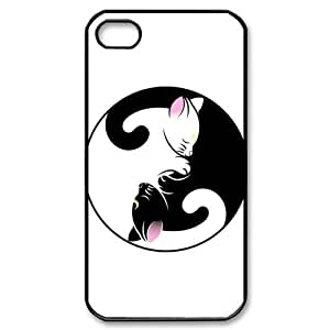 Mysterious Yin and Yang iPhone 4 4S Case Hard Plastic iPhone 4 4S Back Cover Case
