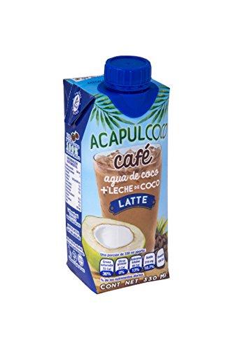 Calahua Agua de coco, Sabor Latte, 18 X 330 ml