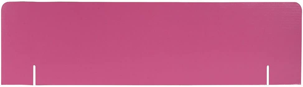 36 x 10 Assorted Project Board Header Pack 4 blue, purple, pink, and yellow 16 Headers