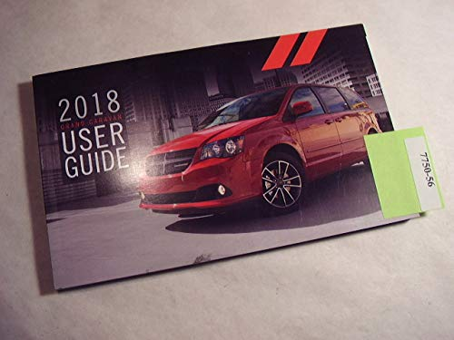 2018 Dodge GRAND CARAVAN Owners Manual Guide - Dodge Caravan Manual