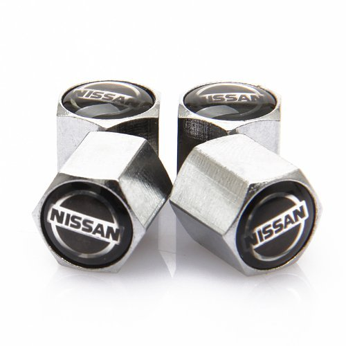 D&R Anti-theft Wheel Tire Valve Stem Caps For Nissan by Dr Dry