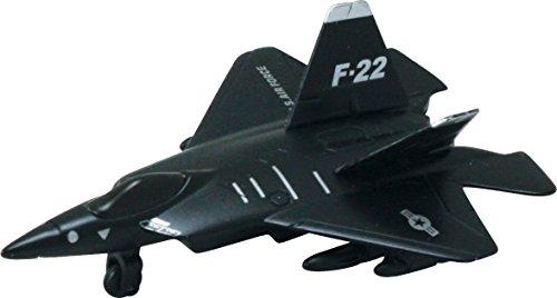 InAir Stealth Fighter Pullback - F-22 Raptor