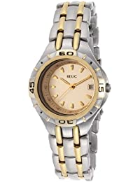 By Fossil Women's Relic Gold Tone Dial Two Toned IP Stainless Steel
