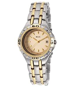 Relic By Fossil Women's Relic Gold Tone Dial Two Toned IP Stainless Steel