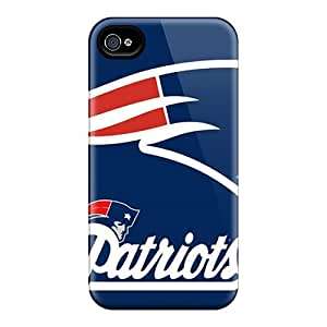 KellyLast Iphone 4/4s High Quality Hard Cell-phone Case Support Personal Customs Nice New England Patriots Series [cgG9969ffnH]
