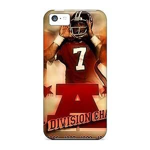 Iphone 5c Evu17314UyEi Allow Personal Design Realistic Denver Broncos Pictures Bumper Phone Cases -JamieBratt