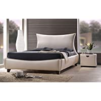 ACME Galton Pearl Faux Leather Queen Bed