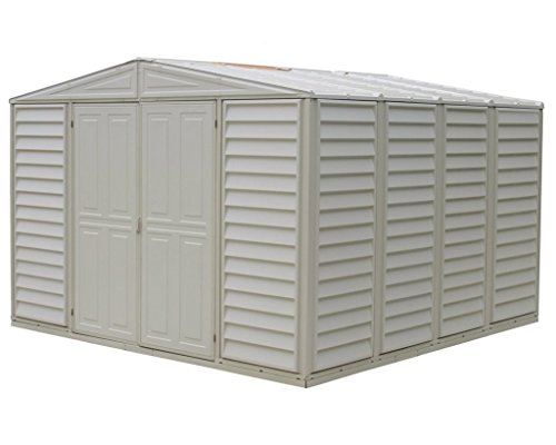 DuraMax Metal Structured WoodBridge Shed (10.5 ft. L x 8 ...