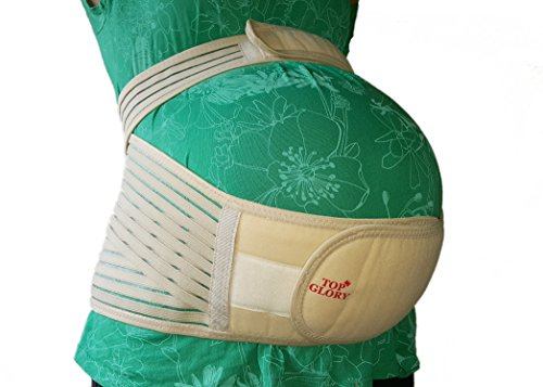 Breathable Pregnancy Maternity Belt - Pregnant Women Comfort Belly Band for Pelvic Support, Correcting Posture and Relief Back Pain