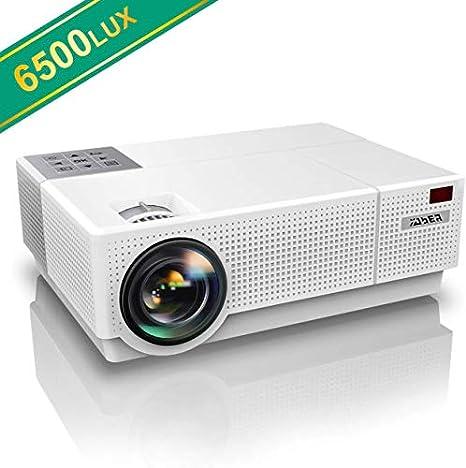 Amazon.com: Proyector, YABER Native 1920x 1080p Proyector ...
