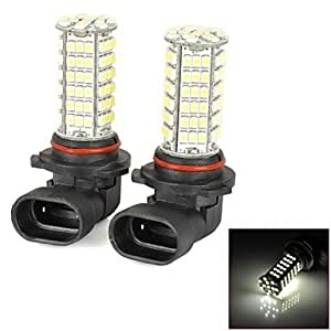 ytj de 9006 5 W 500LM 6000 – 6500 K 102 – 3528SMD LED White Light Car Car antiniebla – (2 unidades)