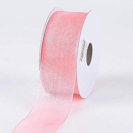25-yard 38-inch Its A Boy Its A Girl Print Sheer Organza Ribbon