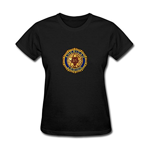 juxing-womens-american-legion-logo-t-shirt-size-l-colorname-short-sleeve