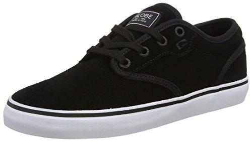 Globe Herren Motley Skateboardschuhe, Schwarz (Black Suede)