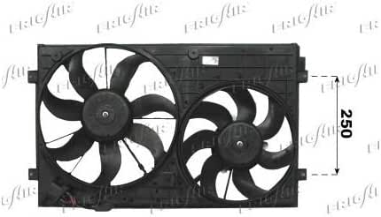 frigair Ventilador para refrigeración del motor, 0510.2019: Amazon.es: Coche y moto