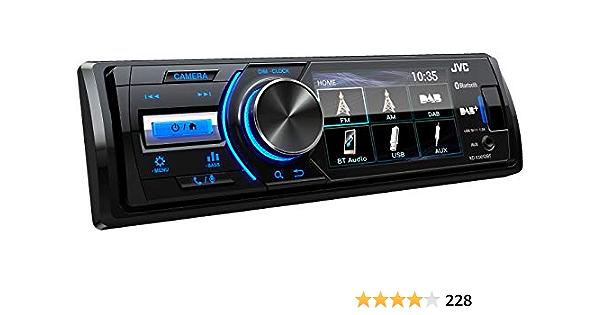 Autorradio Multimedia JVC KD-X561DBT Mechless, 1 DIN: Amazon ...