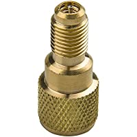 Big-Autoparts R134a Brass Adapter 1/4 Male to 1/2 ACME...