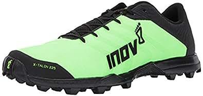 Inov8 Unisex X-Talon 225 Trail Running Shoes Green / Black M10 W11.5 & Visor