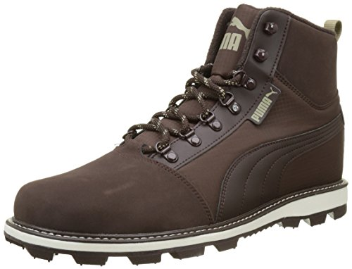 Puma Tatau Fur Boot 2, Zapatillas Unisex Adulto, Marrón (Black Coffee-Chocolate Brown), 45 EU