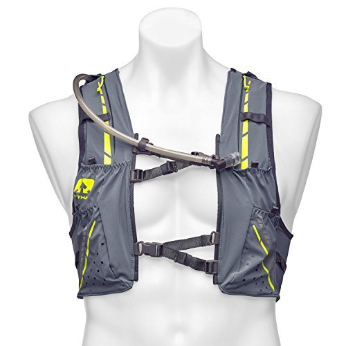 Nathan NS4536 Vaporkrar Hydaration Pack Running Vest with 1.8L Bladder, Blue Stone, Small by Nathan (Image #4)