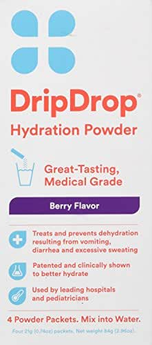 Energy & Endurance: DripDrop Hydration Powder