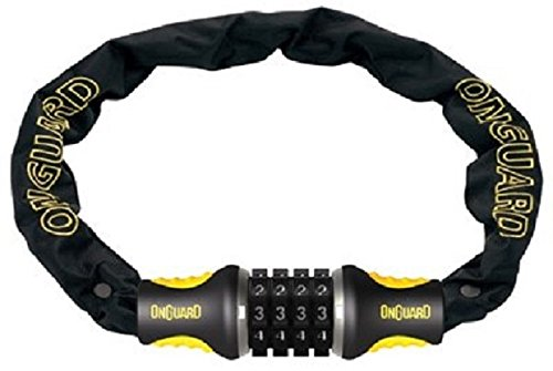 OnGuard 8022C Mastiff Combo Chain Lock - 8mm x 2.75 ft