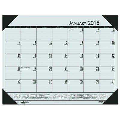 EcoTONES Monthly Desk Pad Calendar (Calendar Ecotones Pad Monthly Desk)