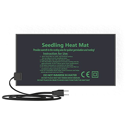 Seedling Heat Mat,Durable Waterproof Plant Warm Mat,Hydroponic Heating Pad For Seed Germination Propagation Cloning (S)