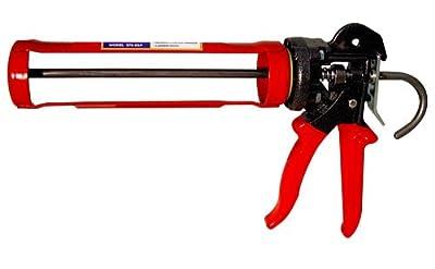 Newborn 375XSP 1/10-Gallon Professional Caulking Gun with 26:1 Thrust Revolving Barrel