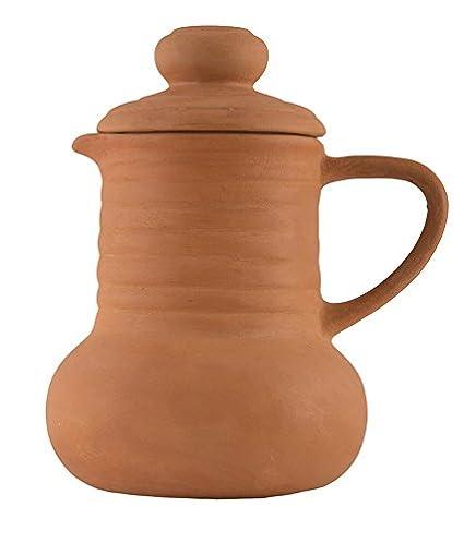 Buy Shabana Art Potteries Terracotta/Clay Earthen Water Jug