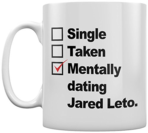 Mentally Dating Jared Leto Pale-complexioned Mug