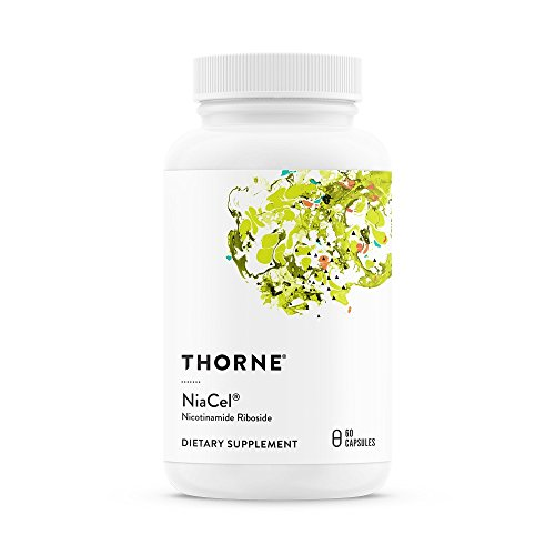 Thorne Research - NiaCel - Nicotinamide Riboside Supplement with ChromaDex's Niagen - NSF Certified for Sport - 60 Capsules by Thorne Research