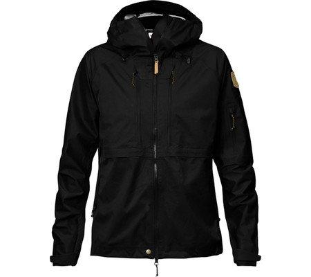 Fjällräven Mujer Keb Eco de Shell Jacket W Hardshelljacke black 550