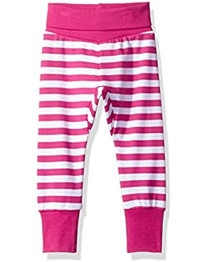 Baby Girls' Cotton Cuff Pant