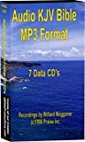 MP3 Stereo Audio KJV Bible - 75 hours - Chapter files - (7) CD data disks