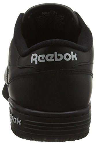 Reebok Silver Int Sneaker black Schwarz Logo Clean Ex Int Fit Silver o Herren rqFwPr