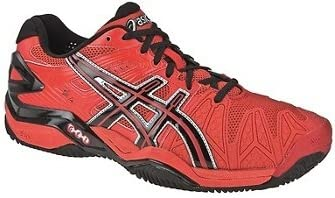 Asics - Zapatillas pádel Gel Bela SG, Talla 46, Color Rojo: Amazon ...