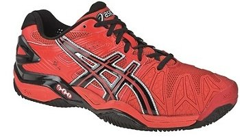 Asics - Zapatillas pádel gel bela sg, talla 46, color rojo: Amazon.es: Zapatos y complementos