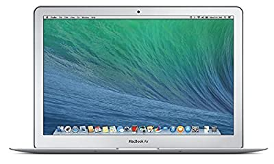 Apple MacBook Air MD760LL/B 13.3-Inch Laptop (NEWEST VERSION), Intel Core i5 Processor, 4GB Memory, 128GB Flash Storage, OS X Mavericks