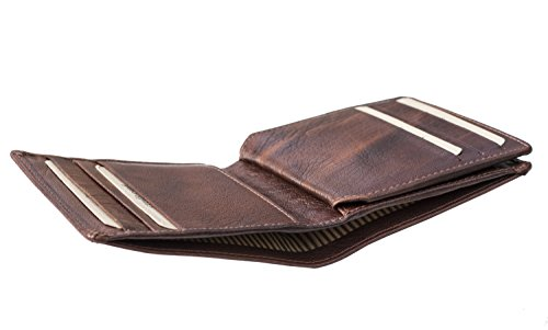 Mens Brown The Bank Wallet Leather Designer Bank Leather Designer The Twenty8 Mens Cognac Twenty8 TA8xBg