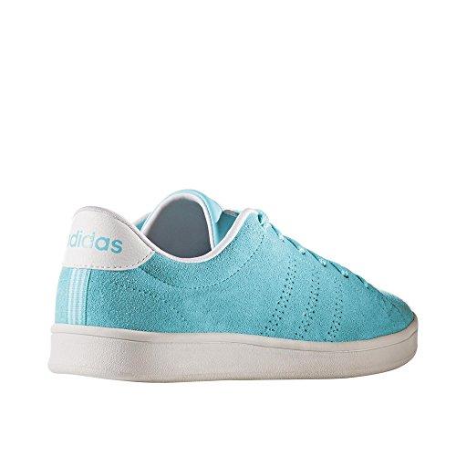 adidas Advantage Clean Qt W, Sneaker a Collo Basso Donna, Blu (Agucla/Agucla/Ftwbla), 39 EU