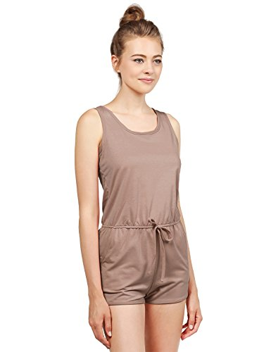 Discount Awesome21 Women's Casual Lightweight Sleeveless Elastic Waistband Romper for sale